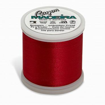 Madeira Rayon 220YD Spool 1310 - Dark Rose