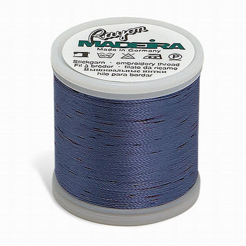 Madeira Rayon Spotted 220YD Color 2307 - Potpourri Forget Me Not