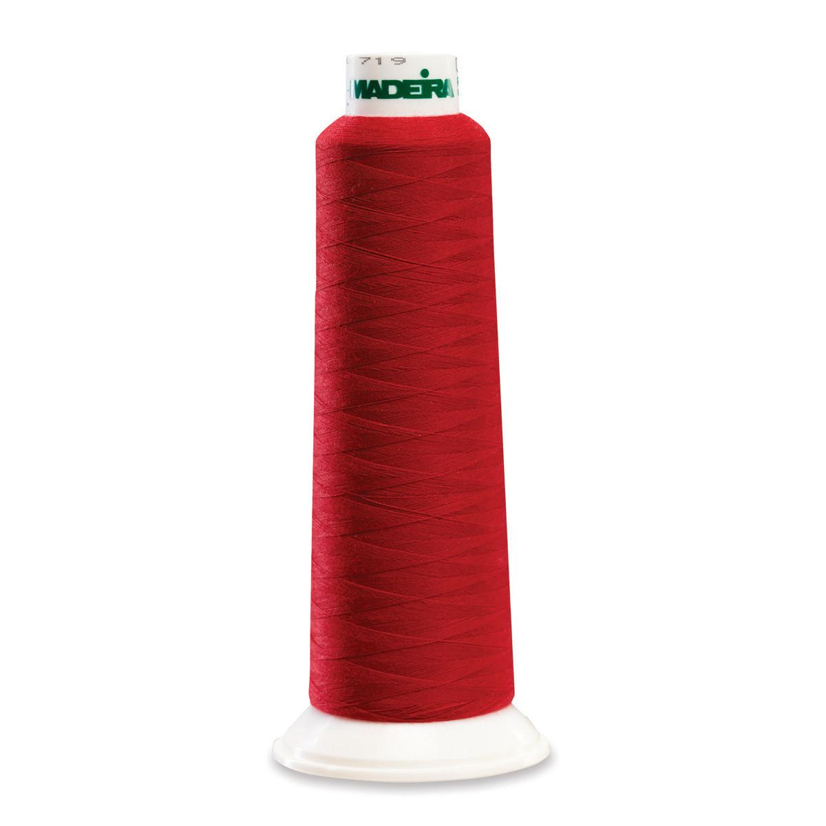 Madeira Serger Thread - Deep Red