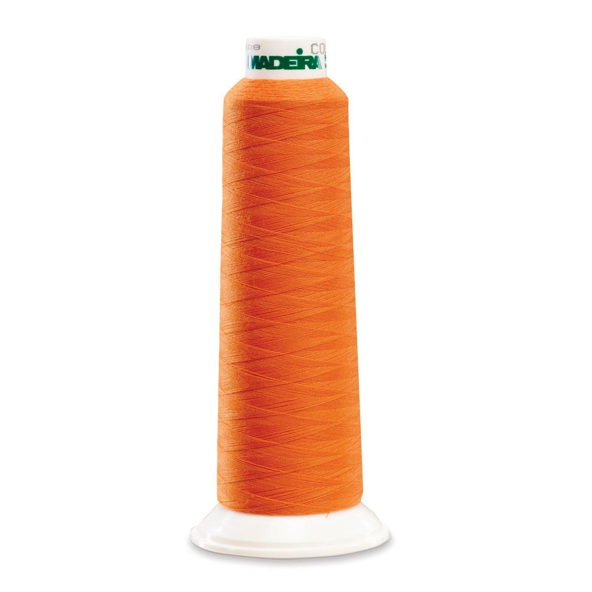 Madeira Serger Thread - Orange