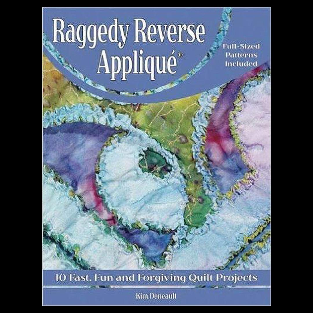 Raggedy Reverse Applique' - book