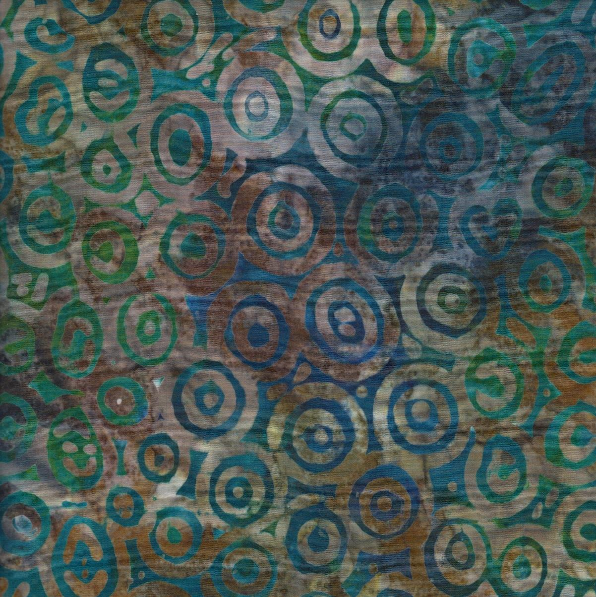 Robert Kaufman - Natures Creations - Teal