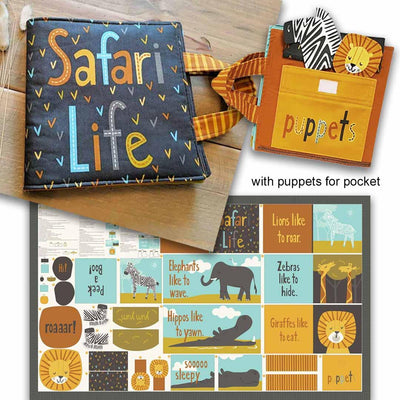 Safari Life Multi Panel Book