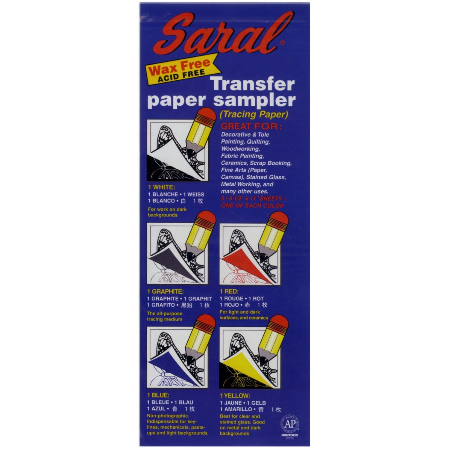 Saral Transfer Paper - 5 Sheets