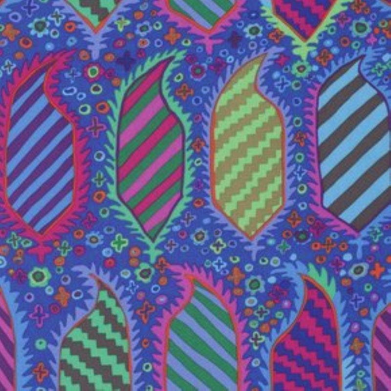 Stripped - Blue - Kaffe Fassett Fall 2017