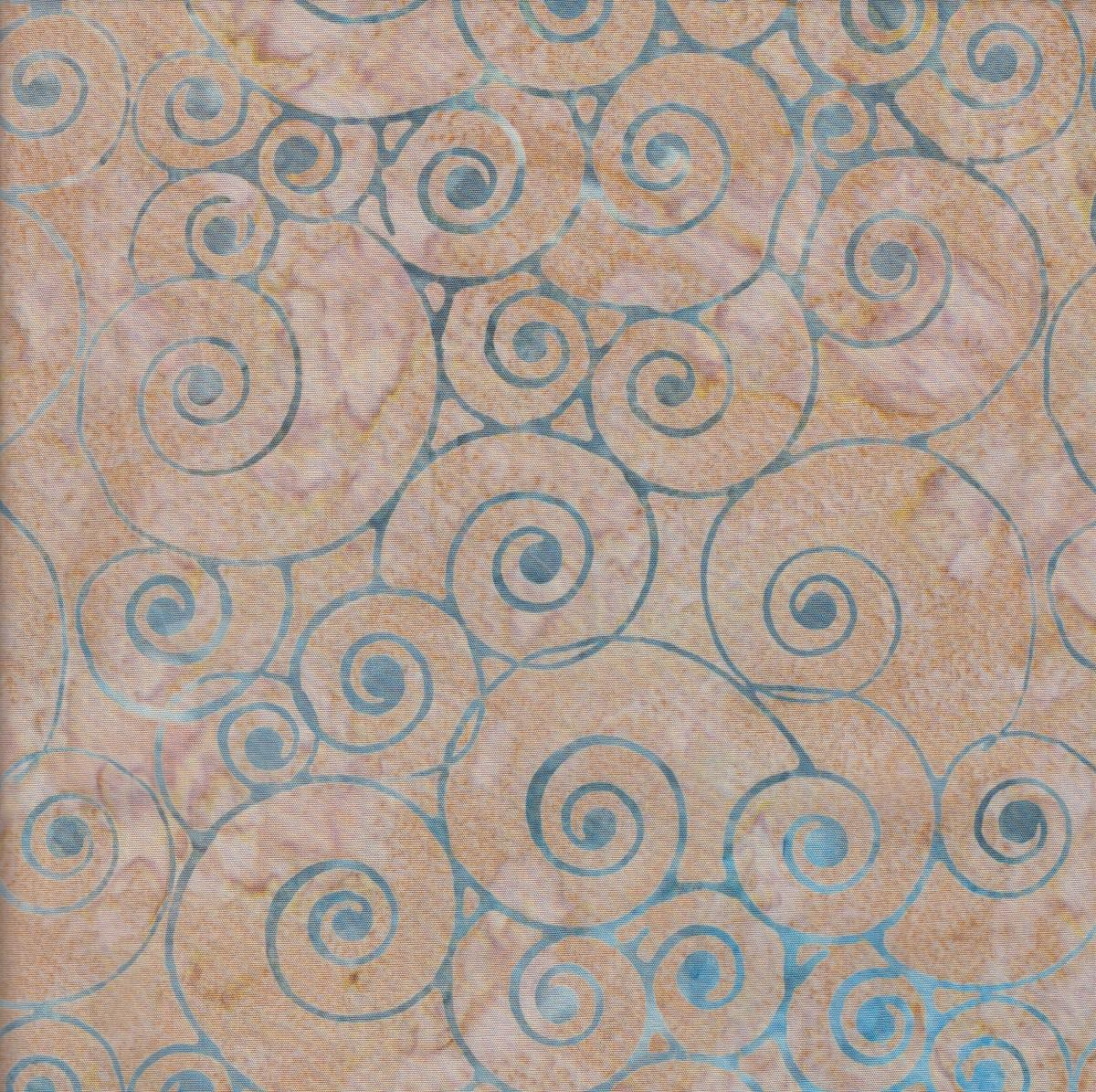 Timeless Treasures - Swirls - Dune