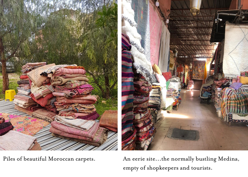 piles-of-moroccan-rugs-empty-stalls-at-market-during-covid