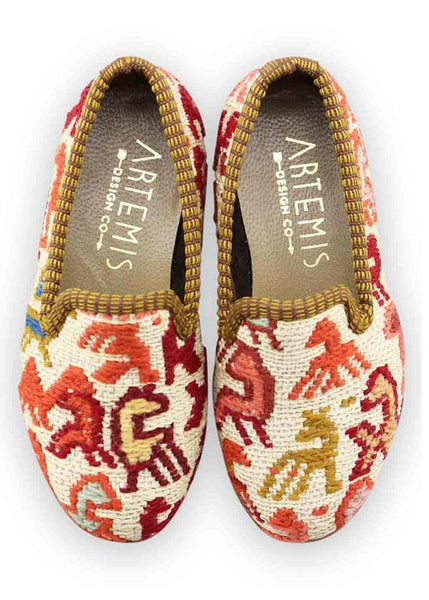 Children's Kilim Loafers