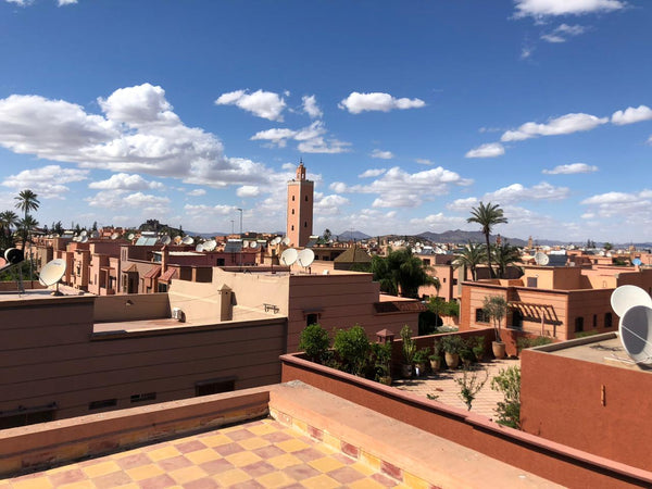 Marrakech from a rooftop