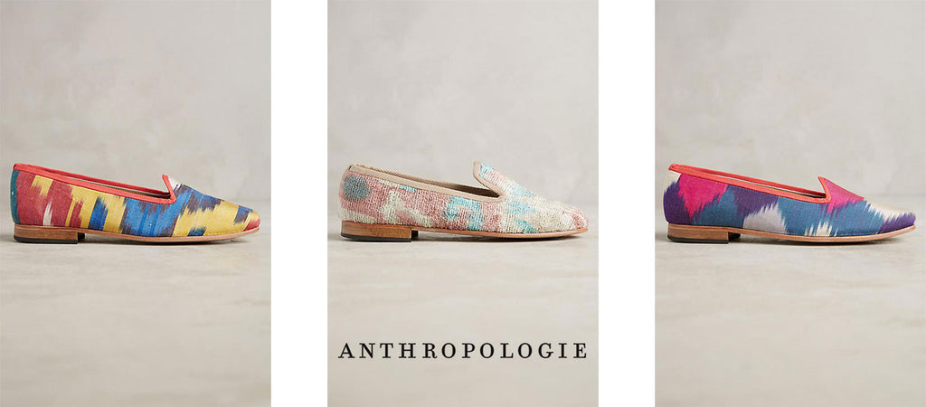 silk and velvet shoes for anthropologie