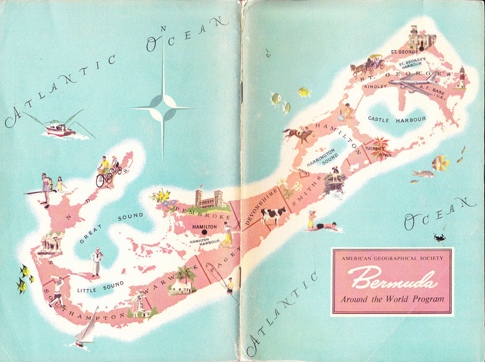 map of bermuda.
