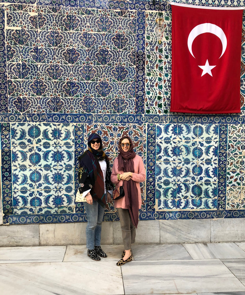 McNeill and Milicent in Istanbul