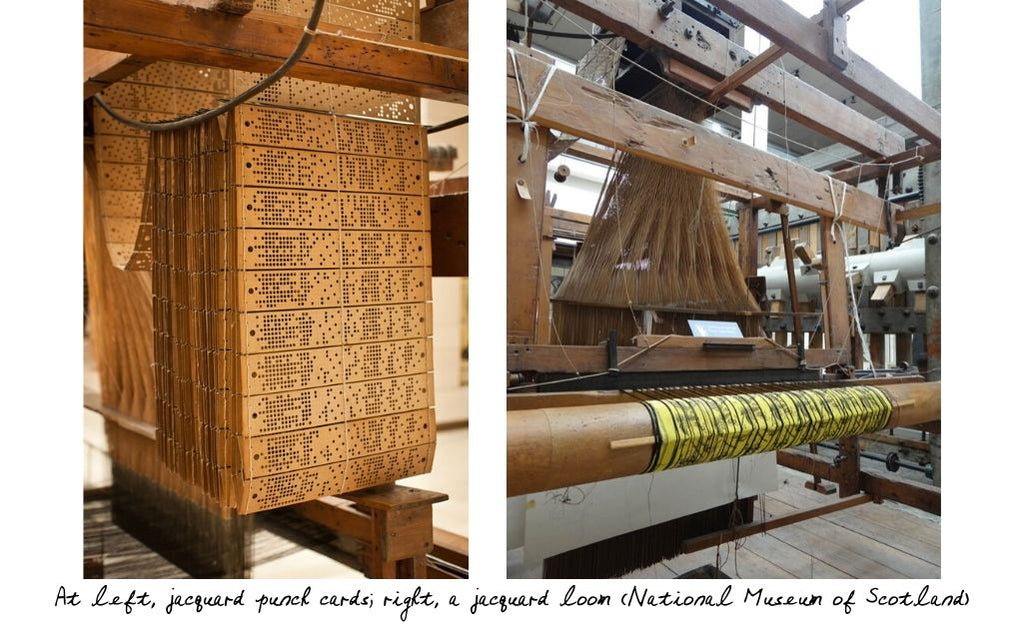 jacquard-punch-cards-and-loom
