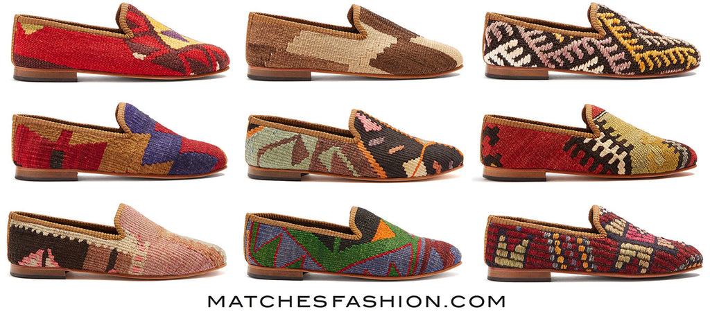 mens kilim loafers for matches fashion