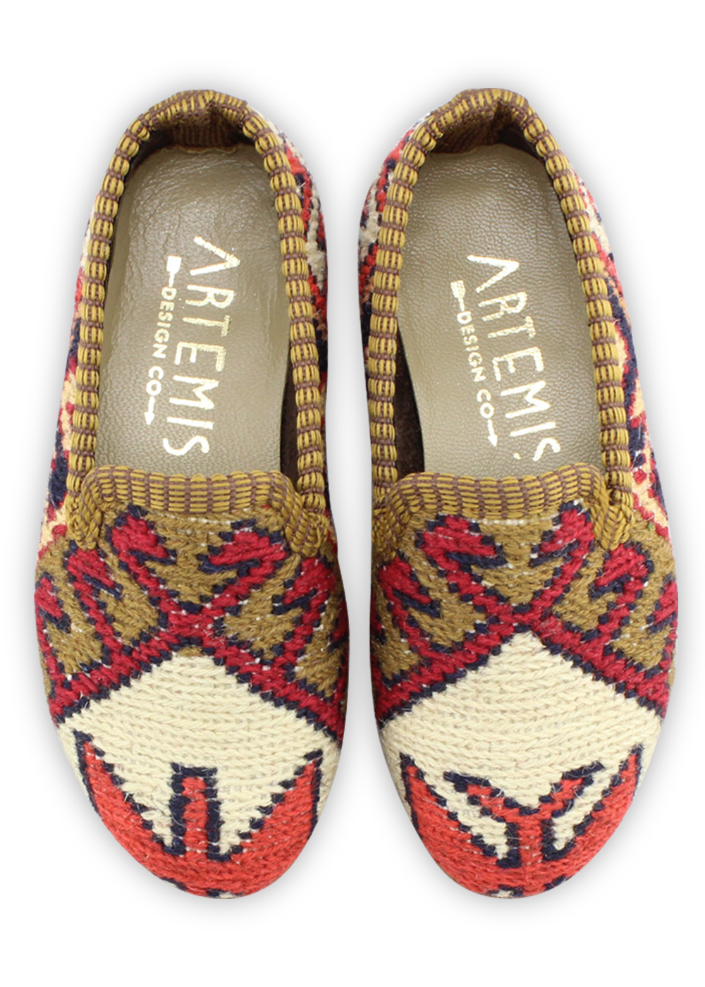 Children's Sumak Kilim Loafers - Size 25