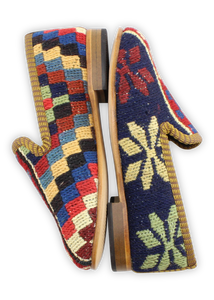 Children's Sumak Kilim Loafers - Size 30