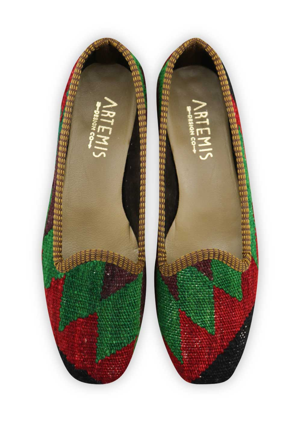 Women's Kilim Loafers - Size 38
