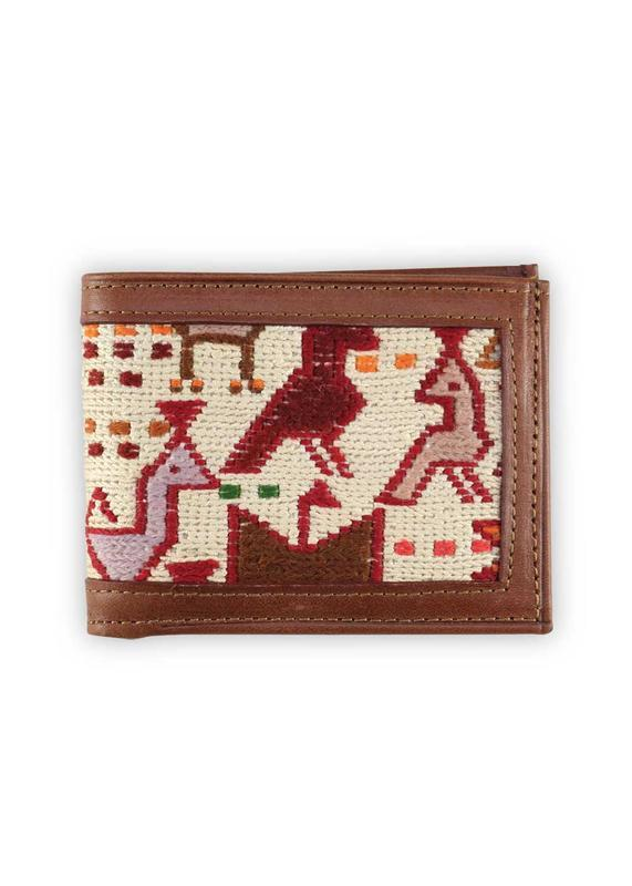 Accessories - Bifold Sumak Kilim Wallet