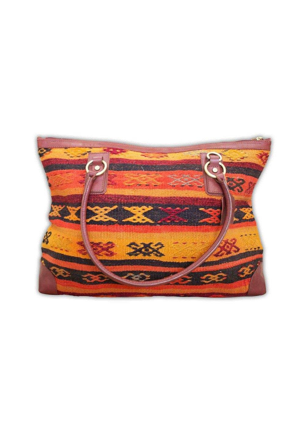 Accessories - Kilim Weekender Bag
