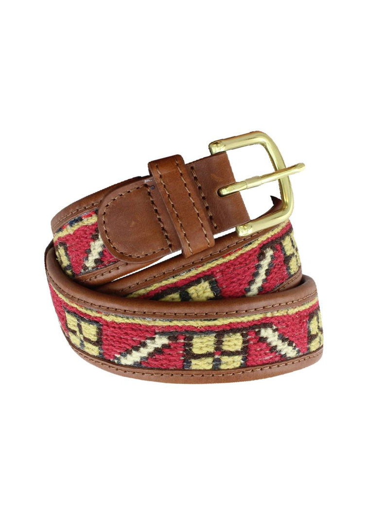 Load image into Gallery viewer, Accessories - Sumak Kilim Belt - Size 36
