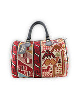 Load image into Gallery viewer, Accessories - Sumak Kilim Handbag - Baby Duffle
