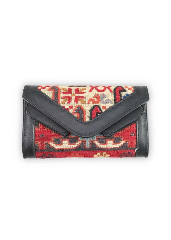 Accessories - Sumak Kilim Wallet & Crossbody