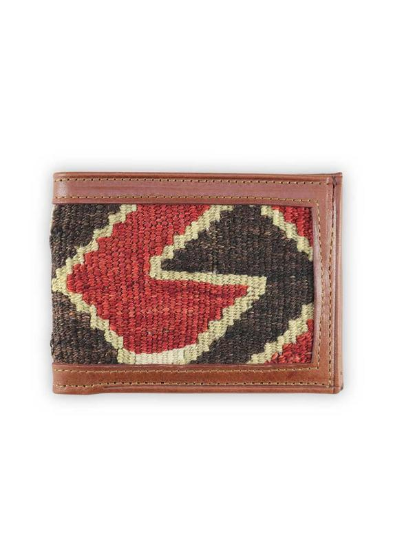 Load image into Gallery viewer, Archived Acc - Bifold Kilim Wallet