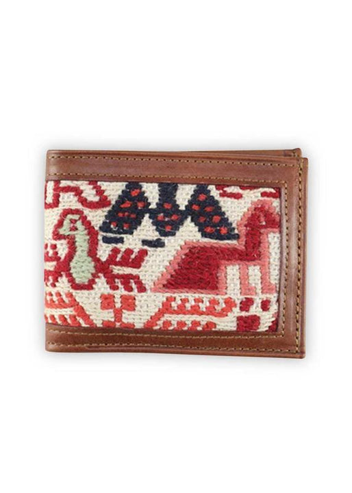 Archived Acc - Bifold Sumak Kilim Wallet
