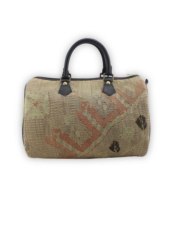 Load image into Gallery viewer, Archived Acc - Kilim Handbag - Classic Duffle