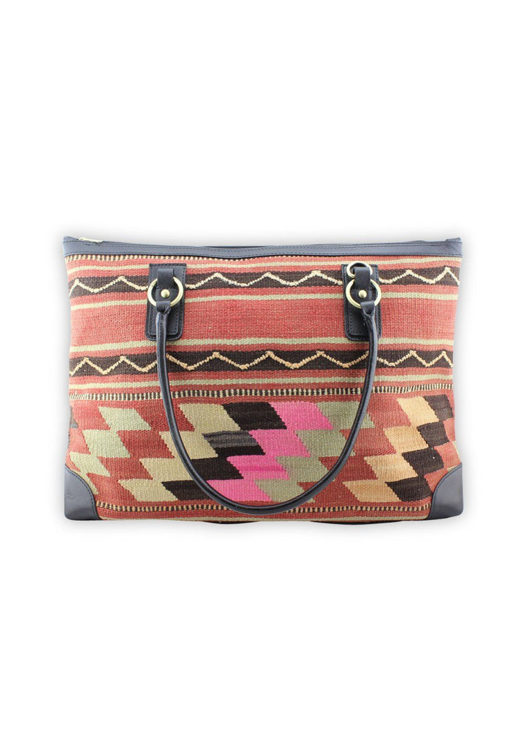 Load image into Gallery viewer, Archived Acc - Kilim Weekender Bag
