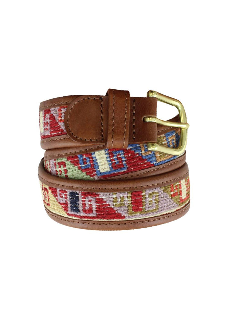 Load image into Gallery viewer, Archived Acc - Sumak Kilim Belt - Size 36