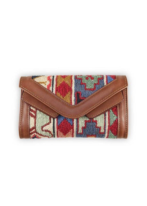 Archived Acc - Sumak Kilim Wallet & Crossbody
