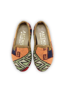 Archived Children's Shoes - Children's Sumak Kilim Loafers - Size 24