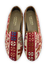 Load image into Gallery viewer, Archived Men's - Men's Sumak Kilim Loafers - Size 42