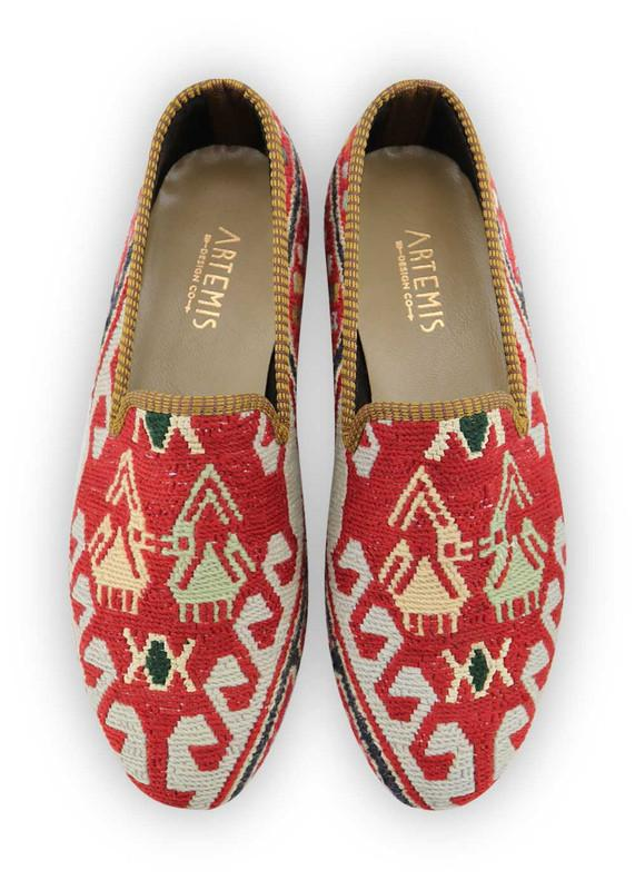 Load image into Gallery viewer, Archived Men's - Men's Sumak Kilim Loafers - Size 45