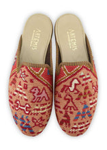Load image into Gallery viewer, Archived Men's - Men's Sumak Kilim Slippers - Size 42