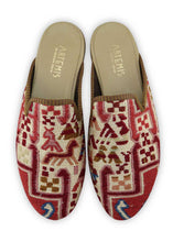 Load image into Gallery viewer, Archived Men's - Men's Sumak Kilim Slippers - Size 45