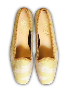 Archived Women's - Honey Moon Silk Loafers- Size 36