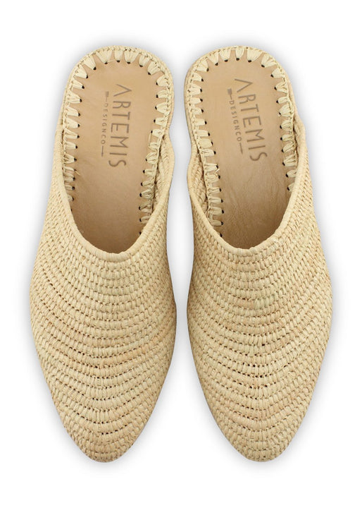 Archived Women's - Raffia Babouche - Natural