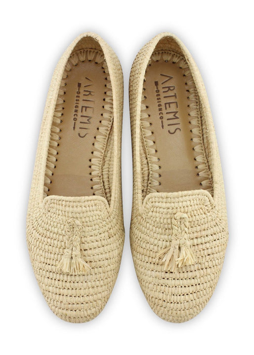 Archived Women's - Raffia Loafer - Natural - Size 41