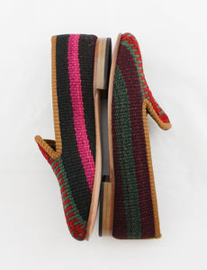 Archived Women's - Sample Size 38 (US 8) Kilim Smoking Shoe
