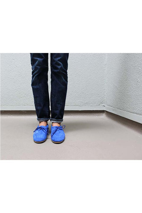 Archived Women's - Size 36 (US 6) Blue Moroccan Slippers