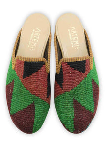 Archived Women's - Women's Kilim Slippers - Size 38