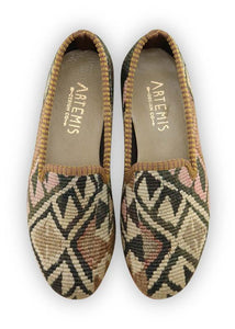 Archived Women's - Women's Kilim Smoking Shoes - Size 37