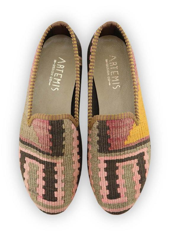 Load image into Gallery viewer, Archived Women's - Women's Kilim Smoking Shoes - Size 39