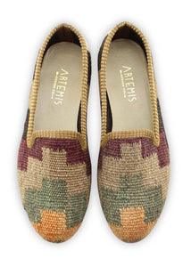 Archived Women's - Women's Kilim Smoking Shoes - Size 41