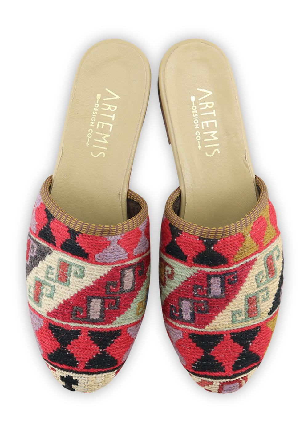 Archived Women's - Women's Sumak Kilim Slides - Size 38