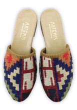 Load image into Gallery viewer, Archived Women's - Women's Sumak Kilim Slides - Size 38