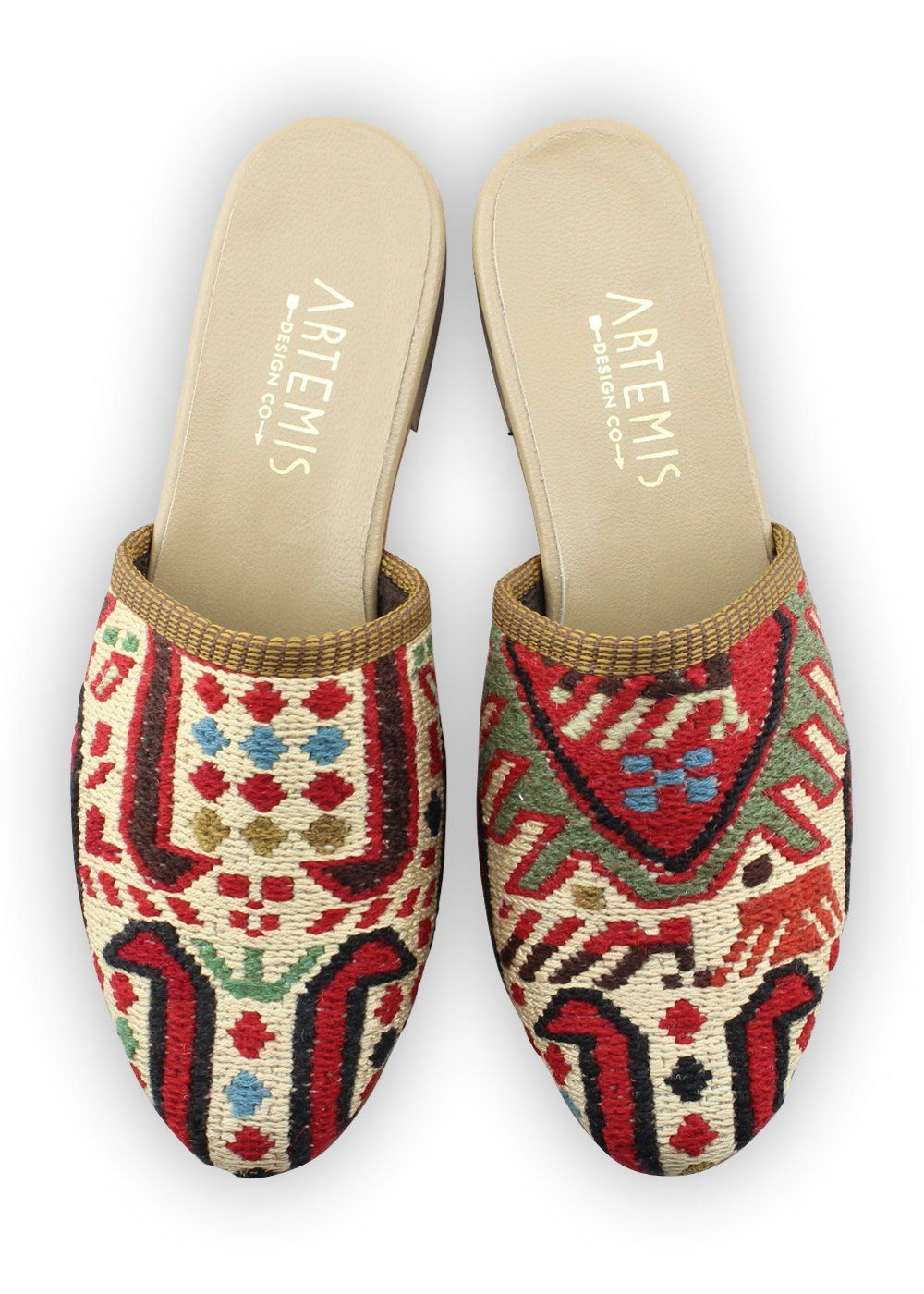 Archived Women's - Women's Sumak Kilim Slides - Size 39
