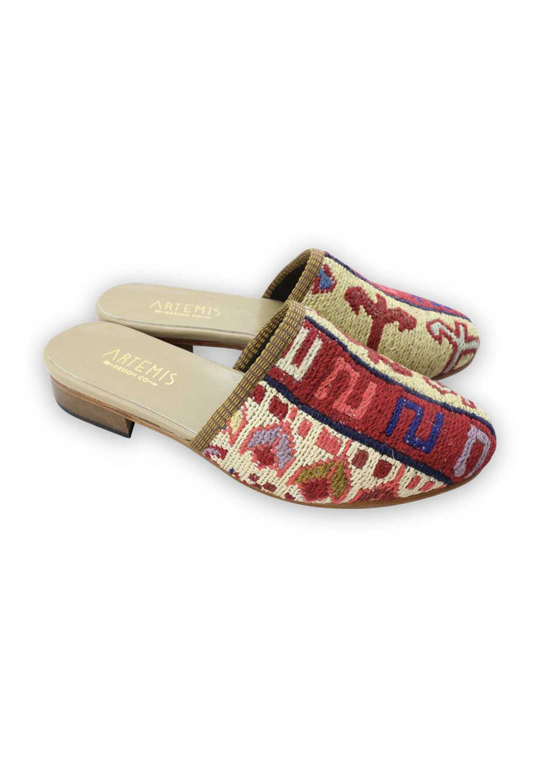 Load image into Gallery viewer, Archived Women's - Women's Sumak Kilim Slides - Size 40